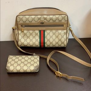 Gucci vintage Ophedia Bag and matching case